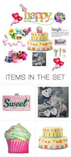 """""""Happy Birthday, Triin!!"""" by patchworkcrafters ❤ liked on Polyvore featuring art"""