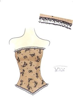 drawing lace: don't care for the last image though..but still works.