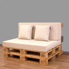 Mueblesdepalets.net: Configuraciones de cojines para sofá