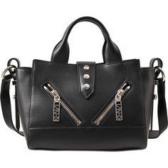 Kenzo Kalifornia Mini Tote bag (1,605 SAR) ❤ liked on Polyvore featuring bags, handbags, tote bags, black, mini tote handbag, mini tote bag, mini handbags, kenzo handbags and tote bag purse