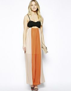 <3 Love: JOVONNISTA Maxi Dress with Cutouts