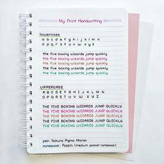 literally had perfect handwriting🍘 Handwriting Examples, Learn Handwriting, Handwriting Alphabet, Improve Your Handwriting, Handwriting Styles, Handwriting Analysis, Hand Lettering Alphabet, Chalk Lettering, Handwriting Template