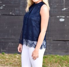 This gorgeous lace top can be YOURS today for only $21.50!  FREE SHIPPING code : FREESHIPWEEK