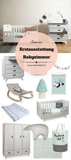 Elegant Erstausstattung f rs Babyzimmer Erstausstattung Baby Checkliste Kinderzimmer einrichten Inspiration Einrichtung Dekoration