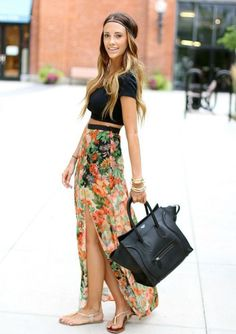 Love the high skirt
