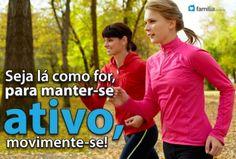 Familia.com.br | Caminhada, trote e corrida. #Exerciciosfisicos