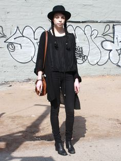 Name: Christine, Occupation: Retail Sales at Court Shop, Seen: Nolita,   WILD Wish: To be a cat, Photo by Alley O'Shea