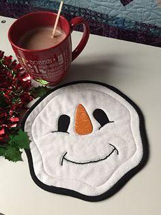 Mister Snowman Trivet Pattern Download