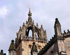 Inspiring close up of St. Giles Cathedral, Edinburgh.