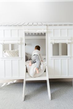 Big Boy Room with Cabin Bed from RH Baby & Child