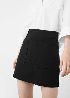 Pocket skirt - Skirts for Women | MANGO USA