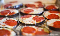 EggPlant Pepperoni Pizza Recipe #Healthy #Glutenfree