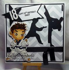 "Pour Some Sugar On Me Blog - Kenny K ""Karate Boy"" #kennyk #karate #brotherscanncut #18th  http://poursomesugaronme-rockchick.blogspot.co.uk/"