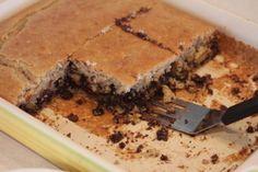 Flourless Chocolate Chip Cake-gluten free