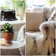 Olohuoneen talvisia tunnelmia/ Living room wintery moods