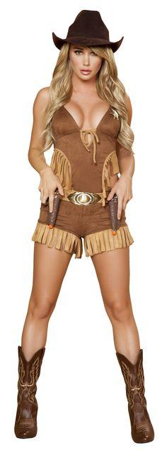 Four Piece Rodeo Hottie Costume RM-4424