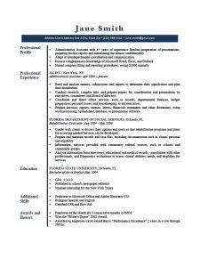 Resume Template Gatsby Dark Blue