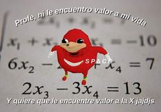 Profe entendeme pls memes meme ugandaknuckles sonic shitpost kk no Best Memes, Dankest Memes, Funny Memes, Memes Lindos, Spanish Memes, Cute Memes, Cartoon Memes, Meme Faces, Reaction Pictures