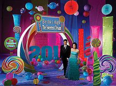 Candy Land Prom Theme