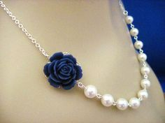 Google Image Result for http://img.loveitsomuch.com/uploads/201208/12/bridesmaid%2520necklace%2520navy%2520blue%2520rose%2520and%2520pearl%2520wedding%2520by%2520annscrafts-f16360.jpg