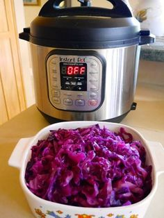Foods For Long Life: Instant Pot Sweet And Sour Red CabbageCome See My Valentine's Day Tree!