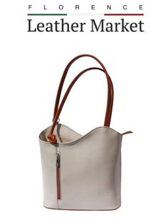 Apple Uk, Baked Apples, Florence Italy, Italian Leather, Backpack Bags, Convertible, Fashion Accessories, Backpacks, Beige