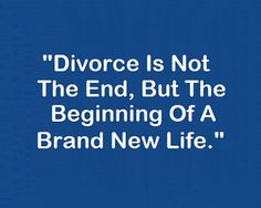 Dating life after divorce
