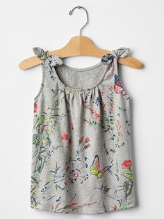 Knotted tie tank || Gap
