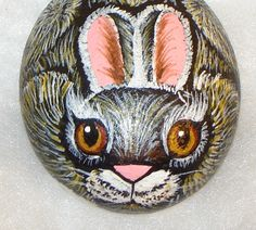 Painted Rock - Bunny