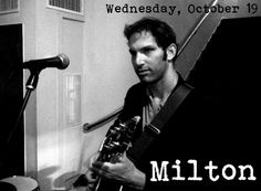 This Wednesday! Milton plays Norey's Music Night. #NewportRI