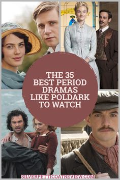 We've compiled a list of great period dramas to watch if you like Poldark! #PeriodDramas #HistoricalDrama #RomanticPeriodDramas #List #PeriodDramasToWatch #Poldark #AidanTurner Dc Movies, Netflix Movies, Movies And Tv Shows, Movie Tv, Family Movies, Best Period Dramas, Period Drama Movies, British Drama Series, British Books