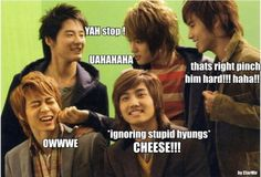 As usual, Changmin is the most matured :)  The rest are babies :P