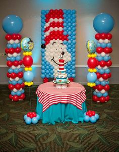 Dr. Seuus and Friends Birthday Party Ideas | Photo 6 of 25 | Catch My Party