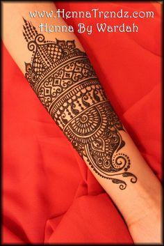 Henna on Arm by HennaTrendz