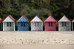 Cath Kidston transforms Bournemouth beach huts for the summer (From Bournemouth Echo)