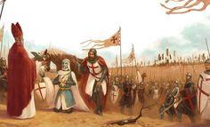 Baldwin The 1st, Leper King of Jerusalem