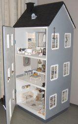 Scandinavian style dollhouse