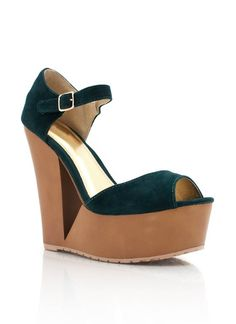 velvet cut-out wedges