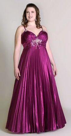 Sun Fold Elastic Satin Spaghetti Empire V Neck Plus Size Prom Dress. Look Plus Size, Plus Size Prom, Plus Size Dresses, Evening Dresses, Prom Dresses, Formal Dresses, Wedding Dresses, Curvy Girl Fashion, Plus Size Fashion