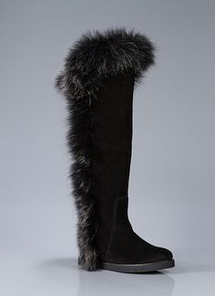 SASHA II Knee-Height Flat Boot With Fur Trim And Molded Rubber Sole. $350.00 Be the first to review this product Model: KA-22SSA The sky is ...