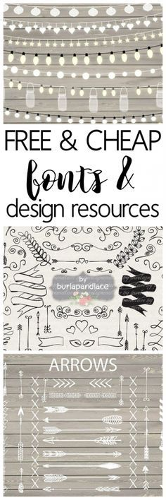 Free and Cheap Fonts and Design Resources - One of the best sites to snag design resources and free fonts. Great for designers who sell their products - commercial use licenses included with many down(Diy Art To Sell) Schriften Download, Illustration Inspiration, Cricut Fonts, Silhouette Cameo Projects, Silhouette Fonts, Silhouette Machine, Cricut Creations, Cool Fonts, Fun Fonts