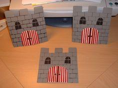 Einladungskarten für einen Ritter-Geburtstag - creadoo.com Diy For Kids, Crafts For Kids, Diy Crafts, Castle Crafts, Castle Party, Knight Party, Dragon Party, Vacation Bible School, Star Wars Party