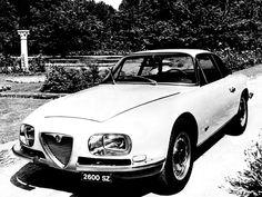 Alfa Romeo 2600 SZ (Zagato), 1965