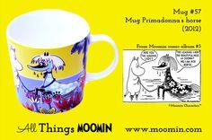 Primadonnas hest - Har den i samlingen Moomin Mugs, Horses, Tableware, Trays, Den, History, Products, Dinnerware, Historia