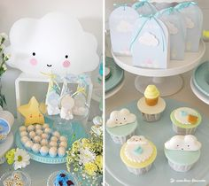 CLOUDS & ICE CREAM! Baptism Party Ideas | Photo 1 of 10