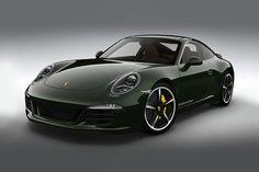 Sexy Green & Brown Porsche