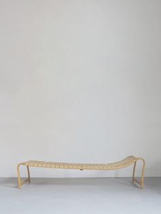'Paris' daybed by Swedish designer Bruno Mathsson Contemporary Chairs, Nordic Design, Lounge Chairs, Daybed, Outdoor Furniture, Outdoor Decor, Product Design, Industrial Design, Cool Designs