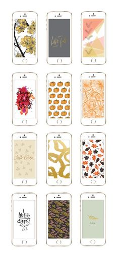 12 Awesome iPhone Wallpaper Designs for Fall from @cydconverse