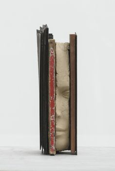 """lovelifefacelimits:  """"Mark Manders - Composition with Red, 2013-2016, Zeno X Gallery  """""""
