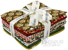 12 Days of Christmas Fat Quarter Bundle from Missouri Star Quilt Co